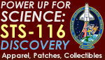 STS-116 Power Up For Science Store