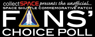 Space Shuttle Commmeorative Patch Fans' Choice Poll