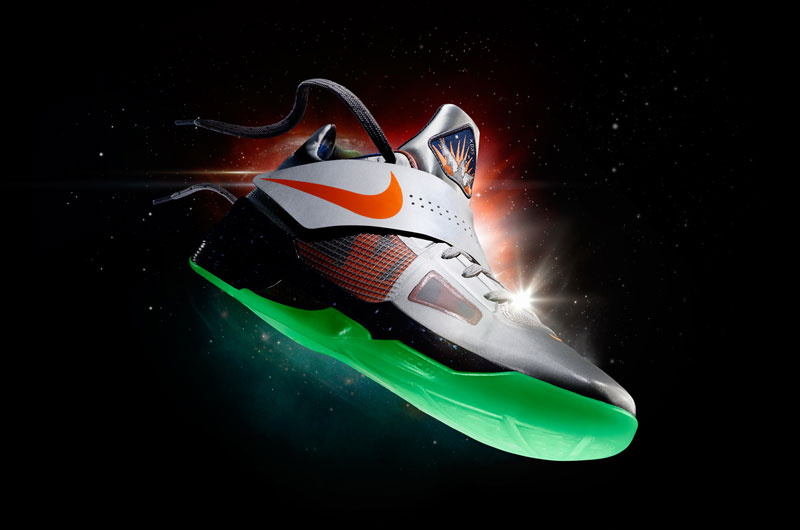 Nike Basketball Space Exploration Nike Zoom KD IV