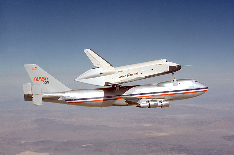 Prototype space shuttle Enterprise bound for NYC reunited with NASA aircraft