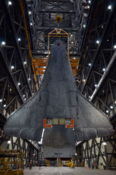 Atlantis lifted for last space shuttle flight