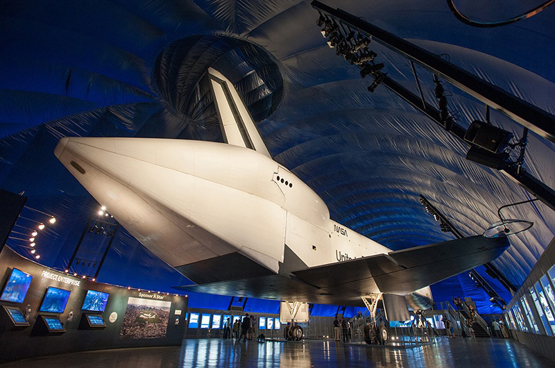 First look: Space shuttle Enterprise exhibit opening in New York City