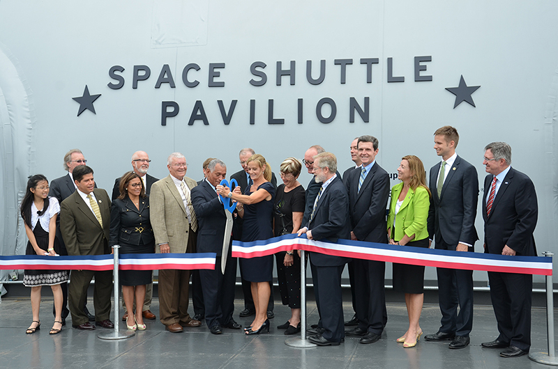 Space shuttle Enterprise opens to public at NYC museum