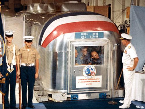Apollo 12 Mobile Quarantine Facility resurfaces ...