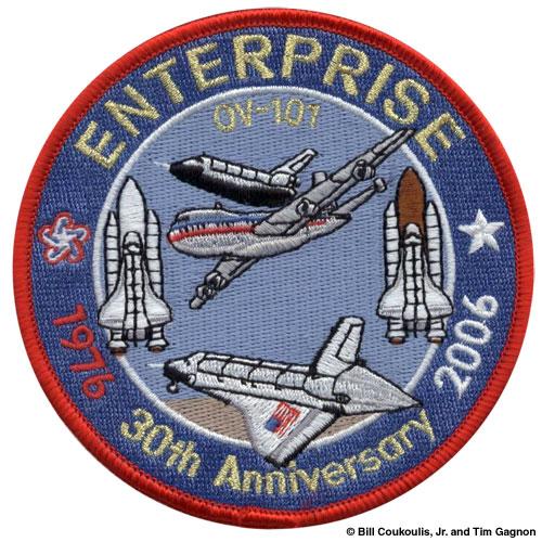 space shuttle enterprise patch - photo #10