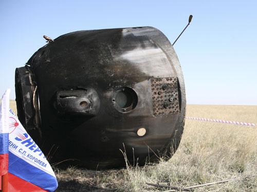 Soyuz - Lancio Soyuz TMA 03M in italiano 21 dicembre dalle 13:00 Iss16_landing07
