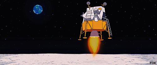 the simpsons astronaut - photo #23