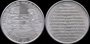 Où acheter une Médaille apollo 11 original ?? SVP Medallions-mfa-a11