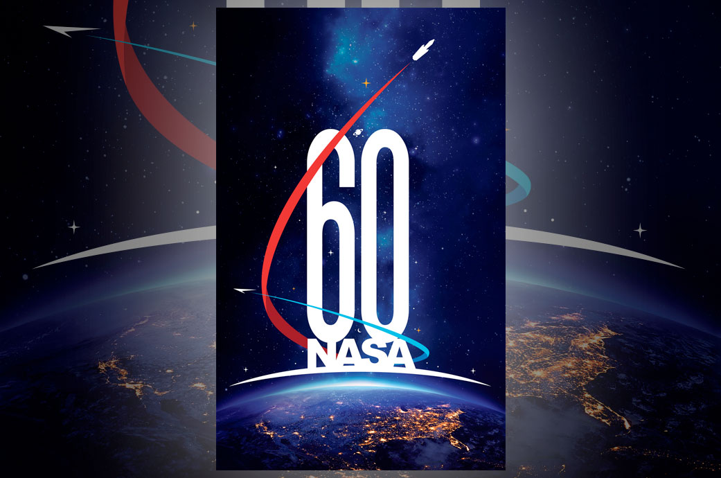 NASA's new 60th anniversary logo depicts 'historic past ...