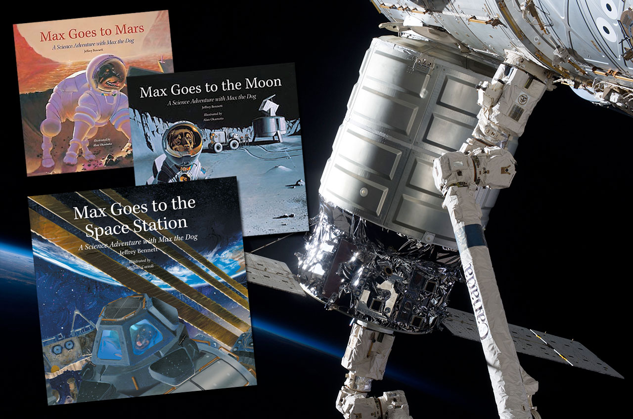 Story Time From Space sends kids books to ISS - collectSPACE