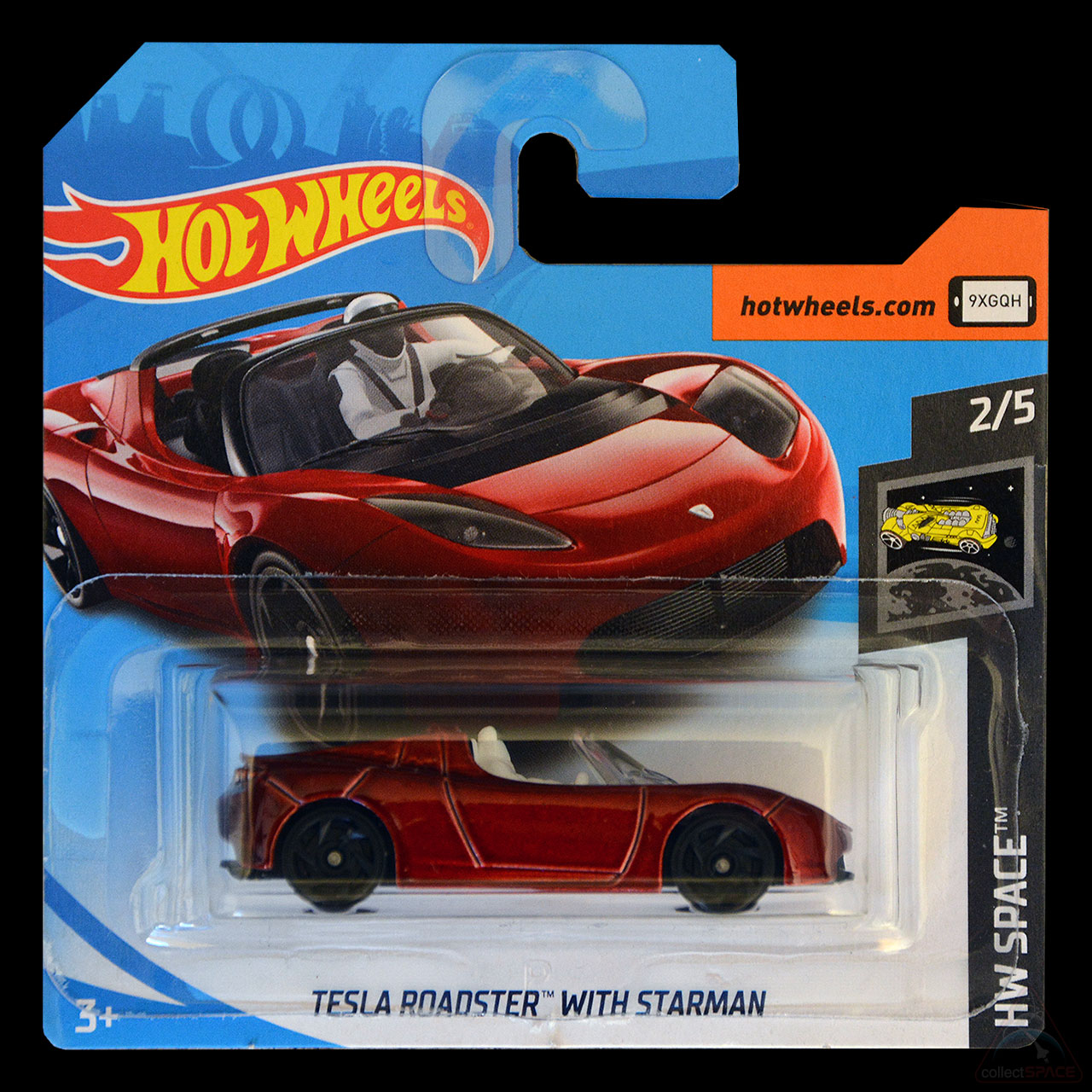 'Starman' Aboard: Hot Wheels Toy Features SpaceX