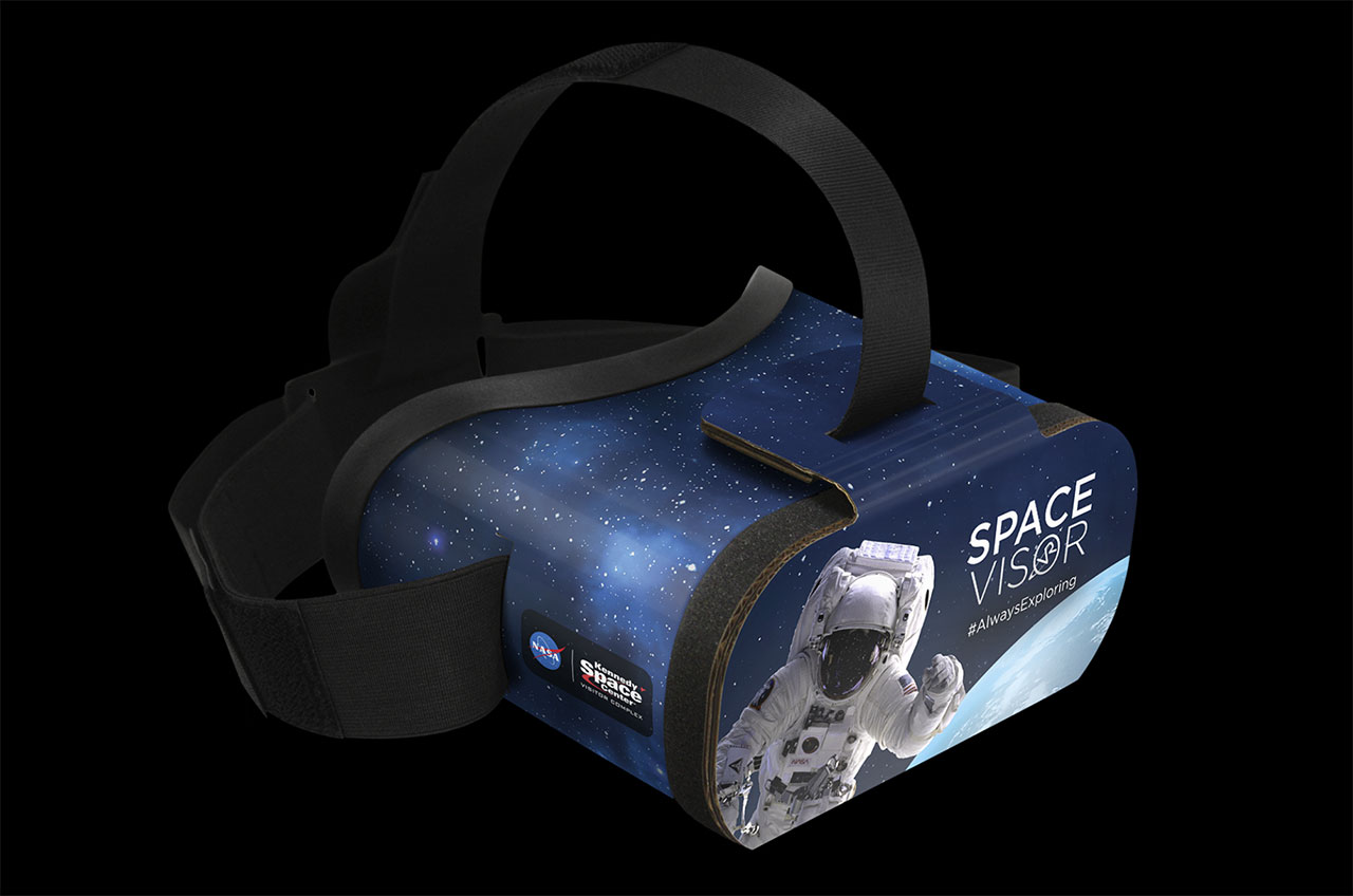 Space Visor Vr Headset Offers Virtual Tour Of Space