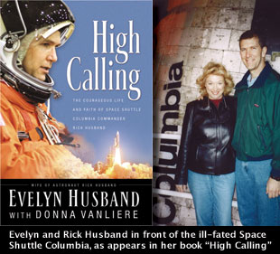 "collectSPACE - news - ""Shuttle commander's wife pens book"""