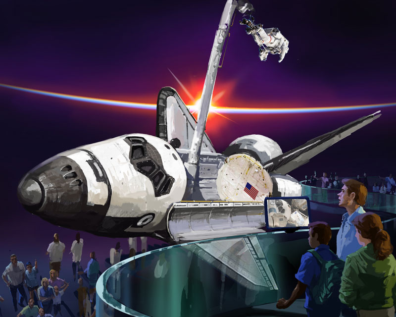 NASA Transfer Order: Excess Property: Space Shuttle Endeavour (OV-105)