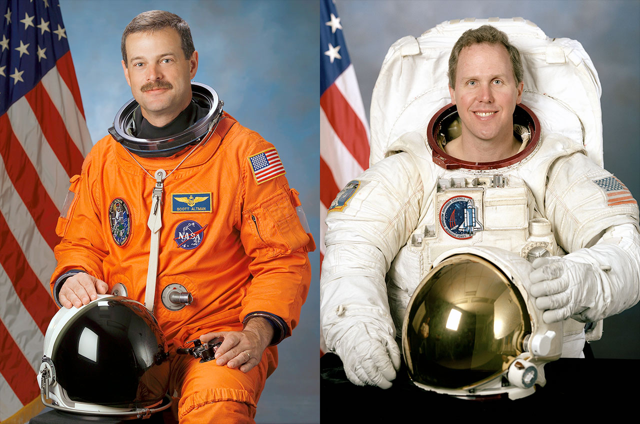 astronauts in a space shuttle - photo #5