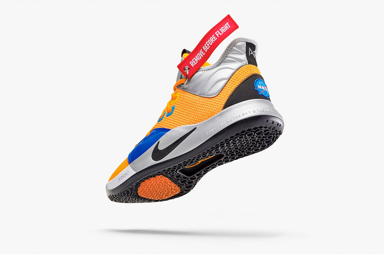 2a21ca87b492 NASA research center inspires basketball player s new Nike sneakers ...
