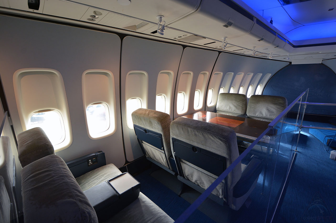 Bigger on the inside first look at houston 39 s new 747 for Pictures inside