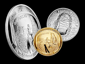 e1e60669e85bd The United States Mint on Thursday (Jan. 24) released for sale its 2019 Apollo  11 50th Anniversary commemorative coins. (US Mint)