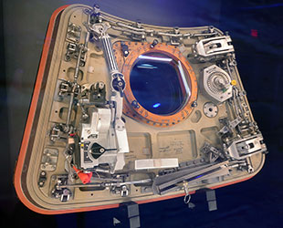 NASA displays Apollo 1 command module hatches 50 years ...