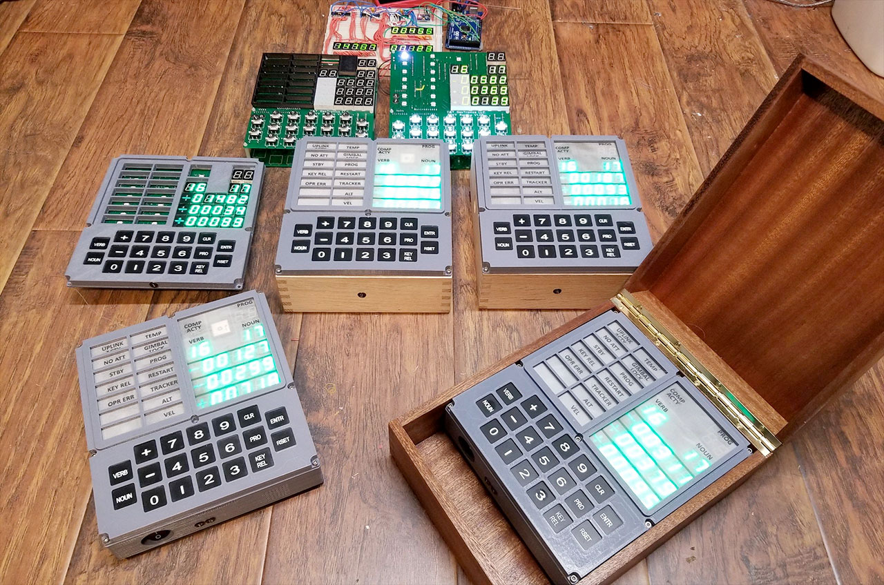 DIY DSKY: Apollo astronaut keypad being rebooted as open source ...