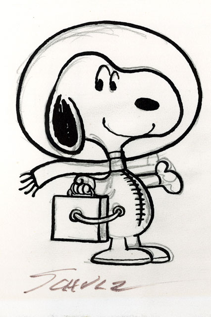 NASA  Snoopy Soars with NASA at Charles Schulz Museum