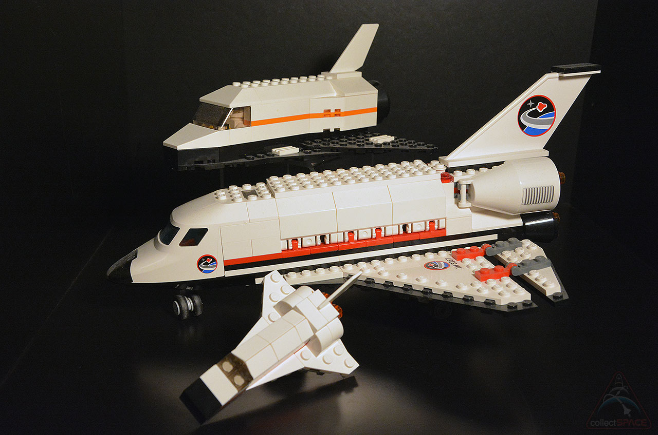 lego mini space shuttle toy soars out of stores in monthly giveaway collectspace. Black Bedroom Furniture Sets. Home Design Ideas