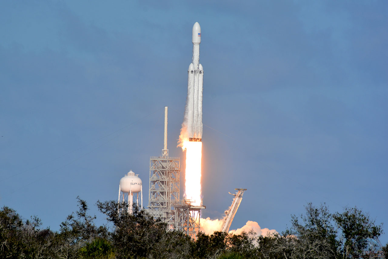 spacex falcon heavy launch today - HD1280×853