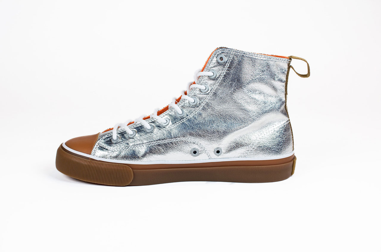 shiny space shoes   u0026 39 mercury all american u0026 39  sneakers styled