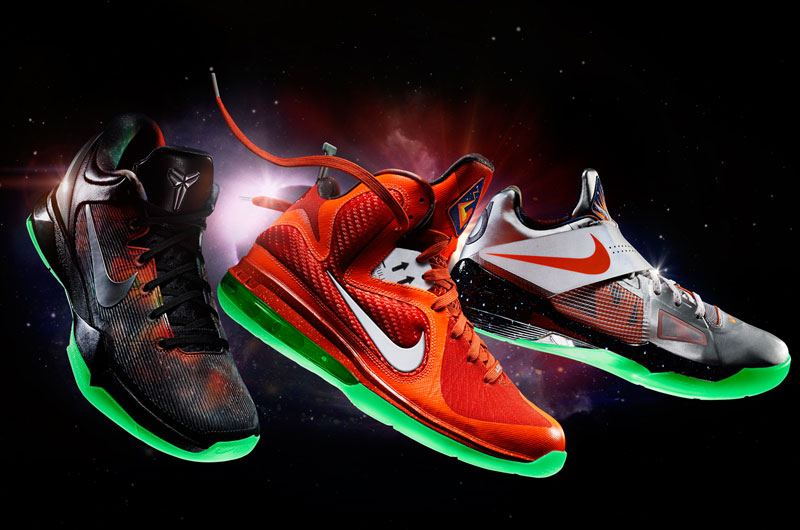 Nike Basketball Space Exploration Collection