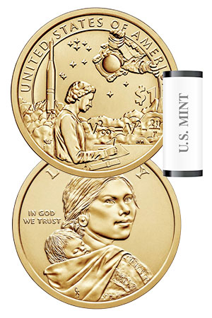 New US dollar coin honors role of Native Americans in space
