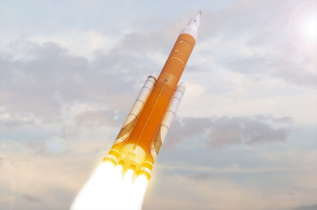 NASA looking at flying astronauts on first Space Launch ...