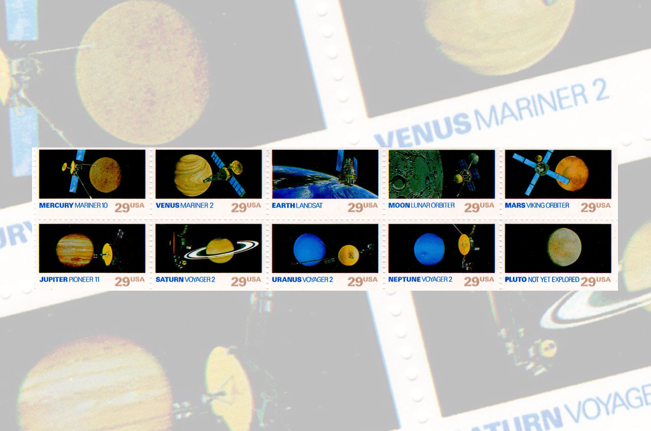 planets postage us postal service issues new solar system - HD1280×848