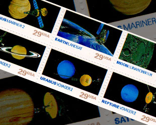 NASA Earth of Space  Curacao Stamps  Worldwide Stamps