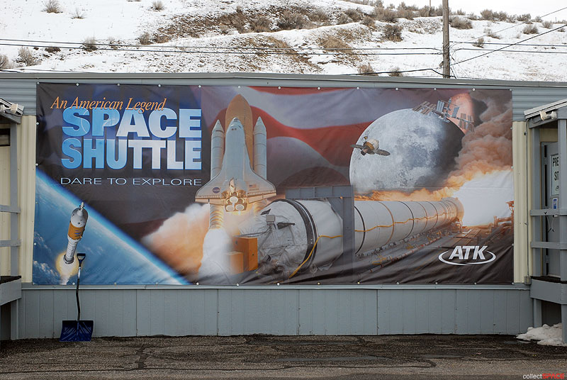 One last blast: Final firing for space shuttle solid rocket ground tests