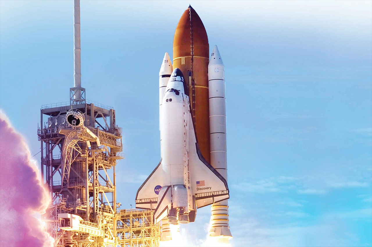 Smithsonian sets space shuttle arrival to 'Welcome ...