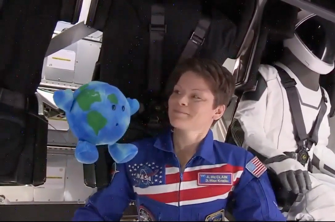 Little Earth' on SpaceX Crew Dragon gives boost to Celestial Buddies