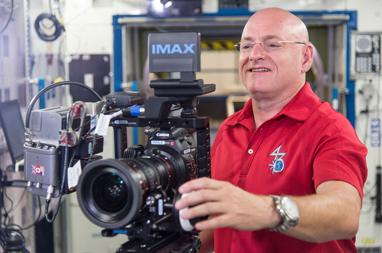 Canon 4k Video Camera >> Astronauts filming new IMAX movie deliver 'deluge of beautiful images' from space | collectSPACE