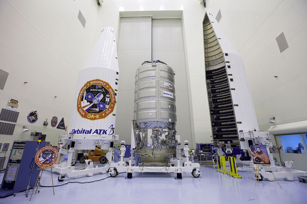 Orbital ATK names space station freighter for fallen ...