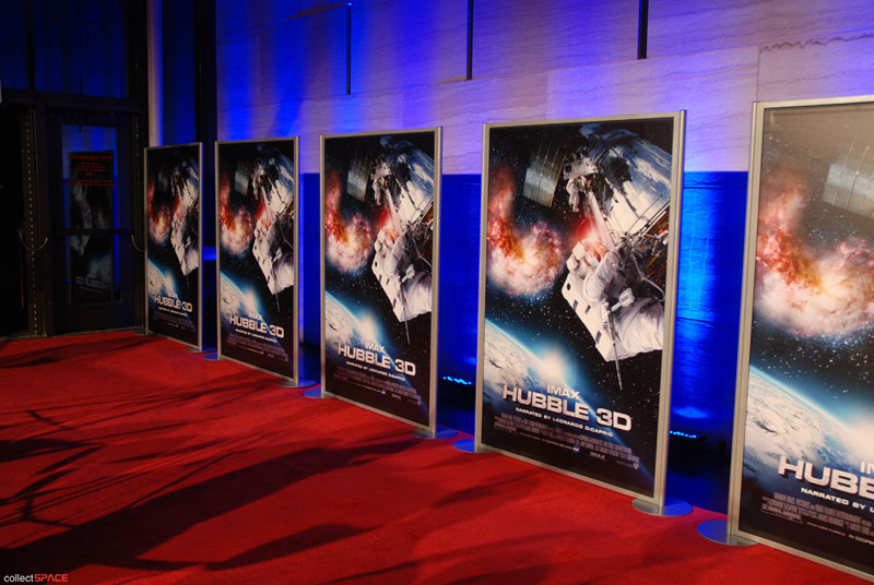 Air and Space Museum rolls out red carpet for Hubble 3D premiere