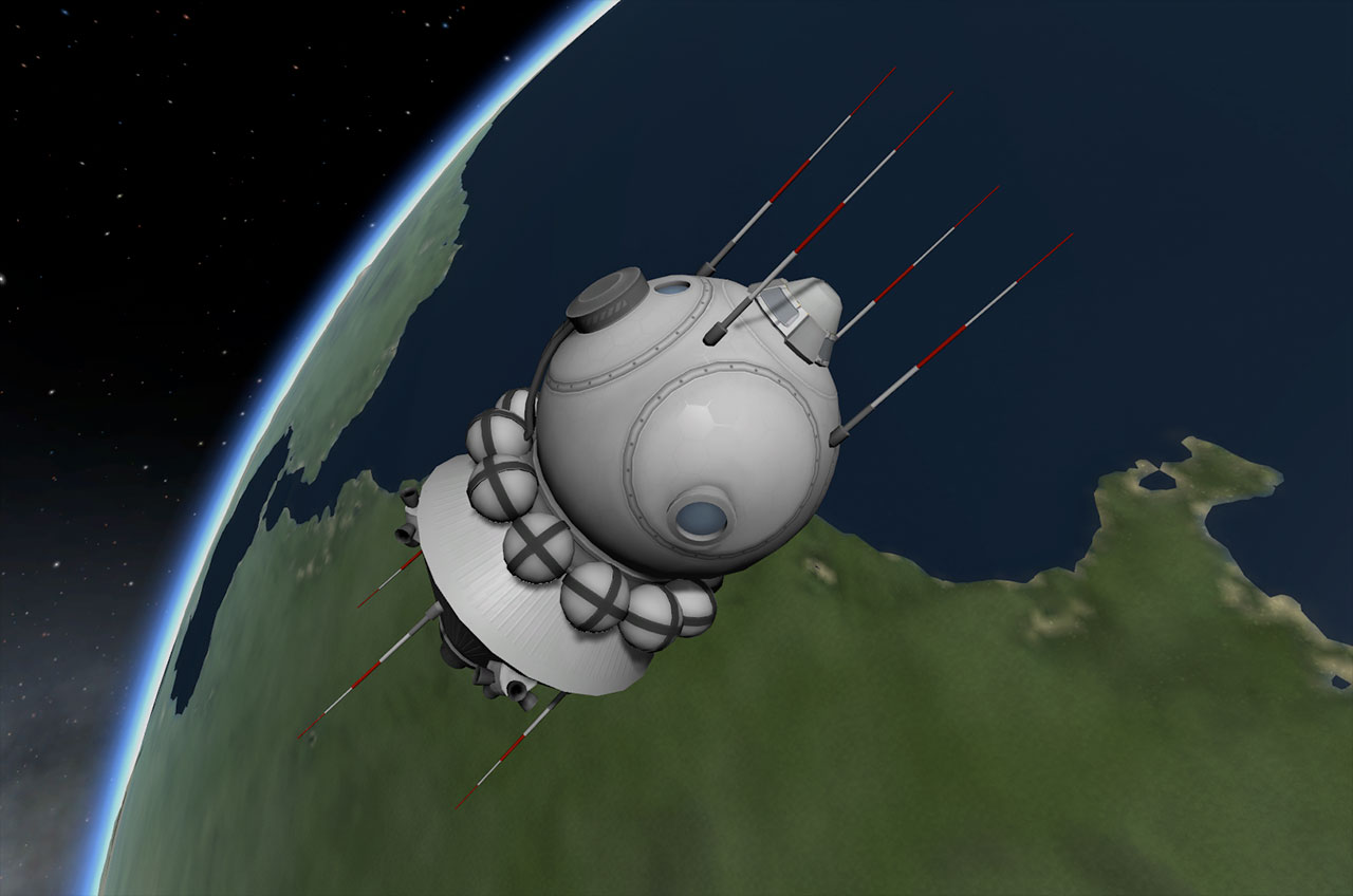 Kerbal Space Program adds Space Race rockets in 'Making History