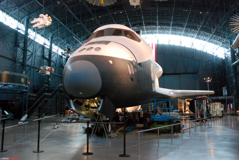 NASA readies retired test shuttle Enterprise for one last flight