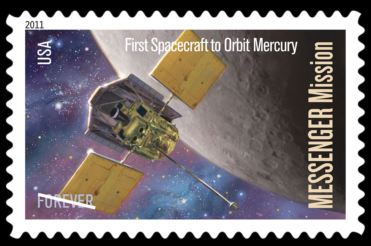 Thrusters in space crafts to mercury