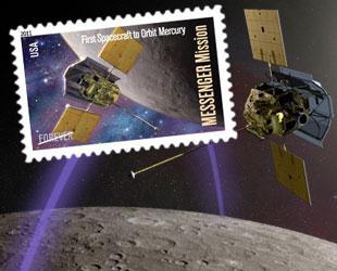 First spacecraft to orbit Mercury already has postage ...