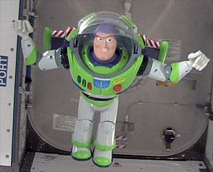 To The Museum And Beyond Space Flown Buzz Lightyear Toy Is