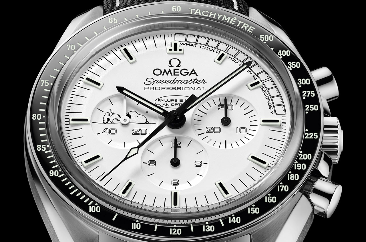 Omega's new Snoopy Spe...