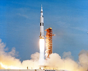 The American space rocket Apollo
