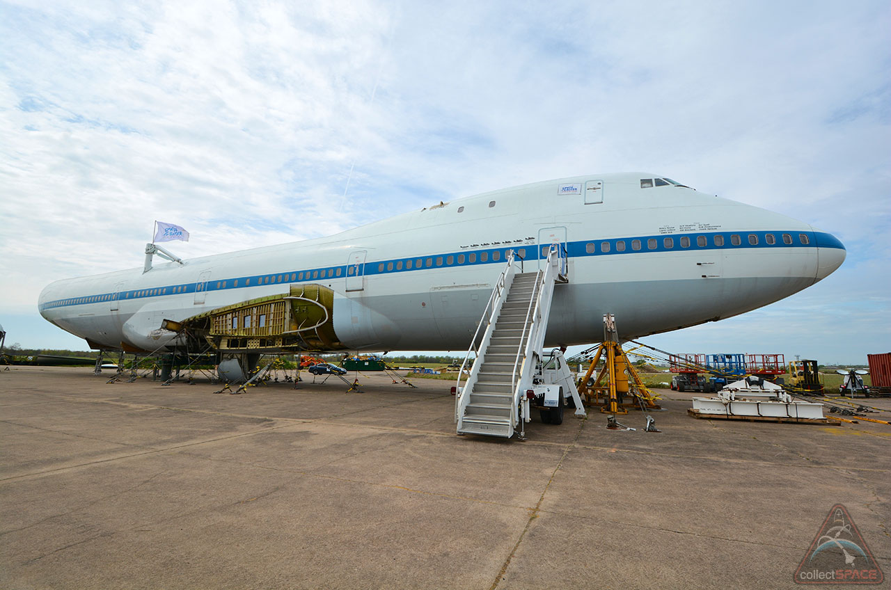 Dates set for move of NASA shuttle carrier aircraft to ...