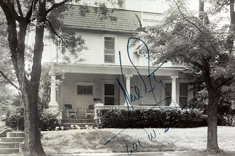 Neil Armstrong Boyhood Home - Pics about space