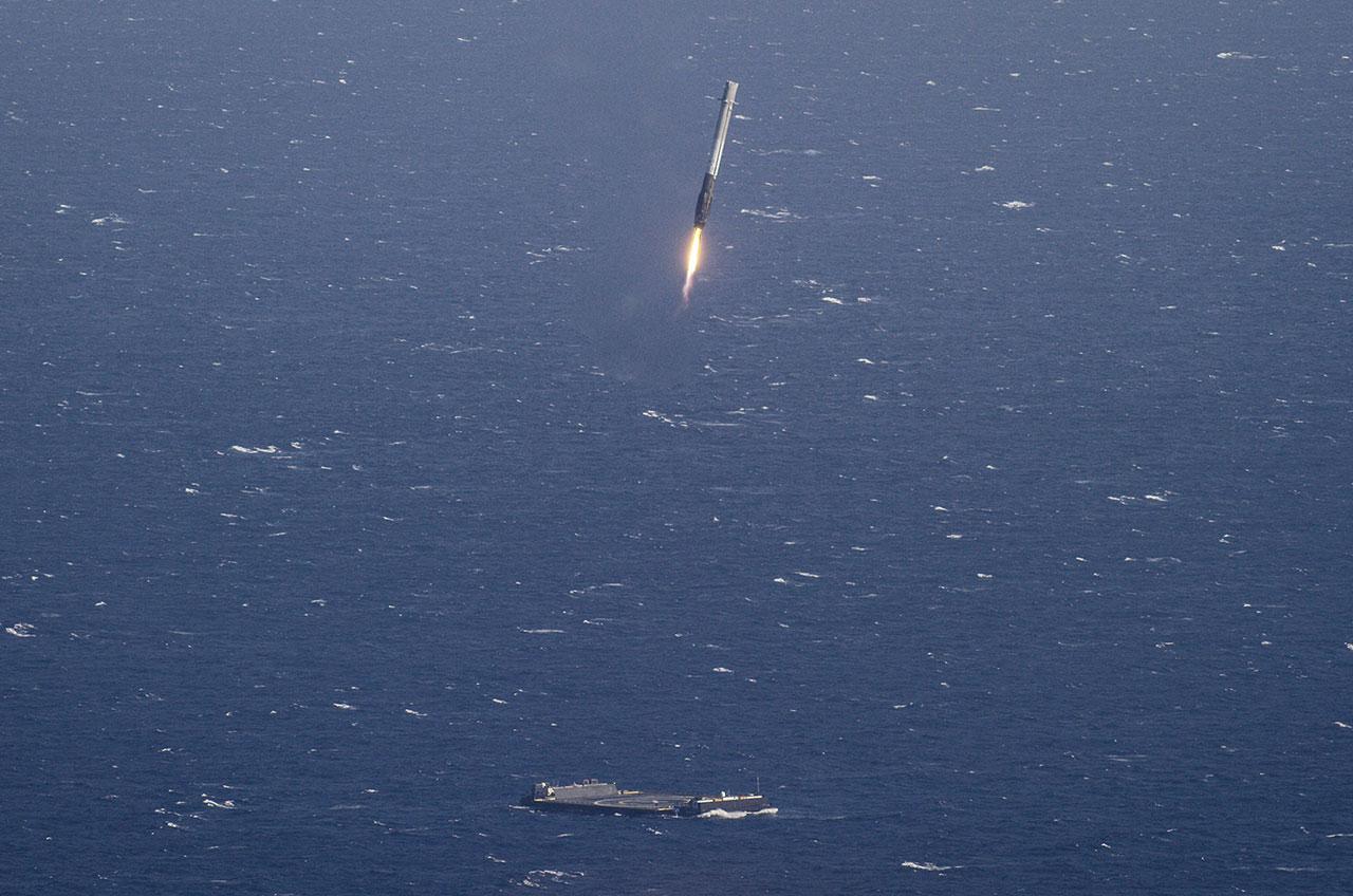 spacex drone ship landing - photo #21