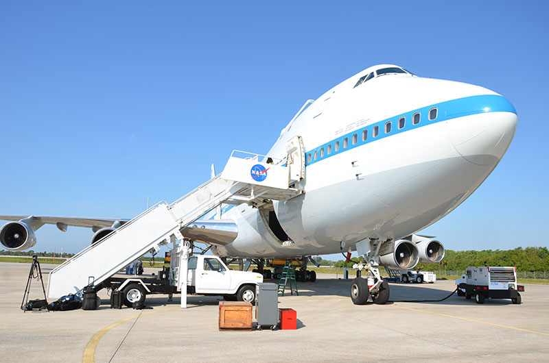 Now boarding: Inside NASA's Boeing 747 Shuttle Carrier Aircraft